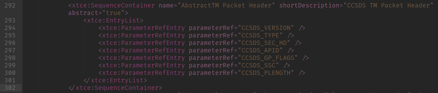AbstractTM Packet Header Definition